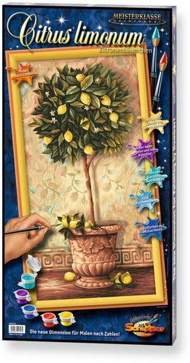 Schipper Malen nach Zahlen »Meisterklasse Hochformat Citrus limonum«