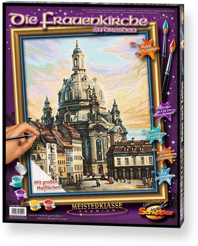 Schipper Malen nach Zahlen, »Meisterklasse Premium Die Frauenkirche zu Dresden«