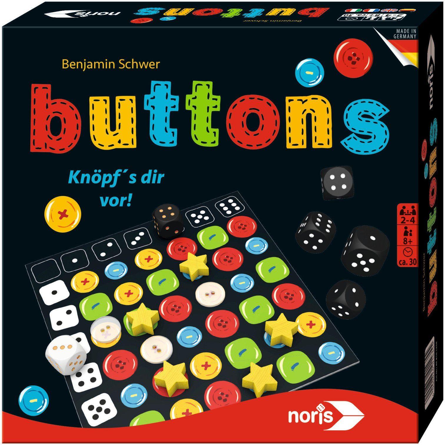 Noris, Gesellschaftsspiel, »Buttons«