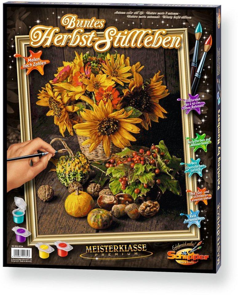 Schipper, Malen nach Zahlen, »Meisterklasse Premium Buntes Herbst Stillleben«