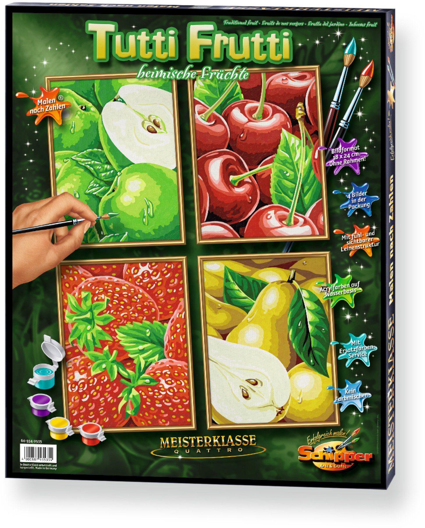 Schipper Malen nach Zahlen, »Meisterklasse Quattro Tutti Frutti«