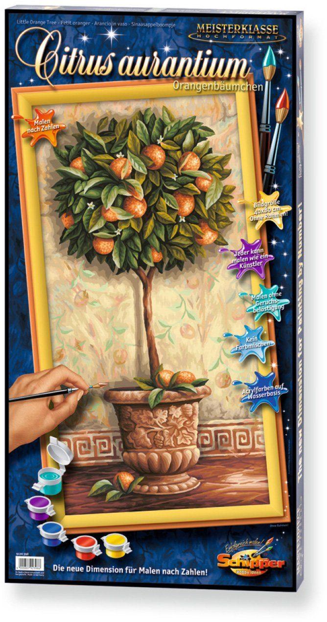 Schipper, Malen nach Zahlen, »Meisterklasse Hochformat Citrus aurantium«