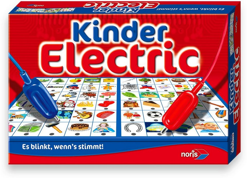 Noris, Quizspiel, »Kinder Electric«