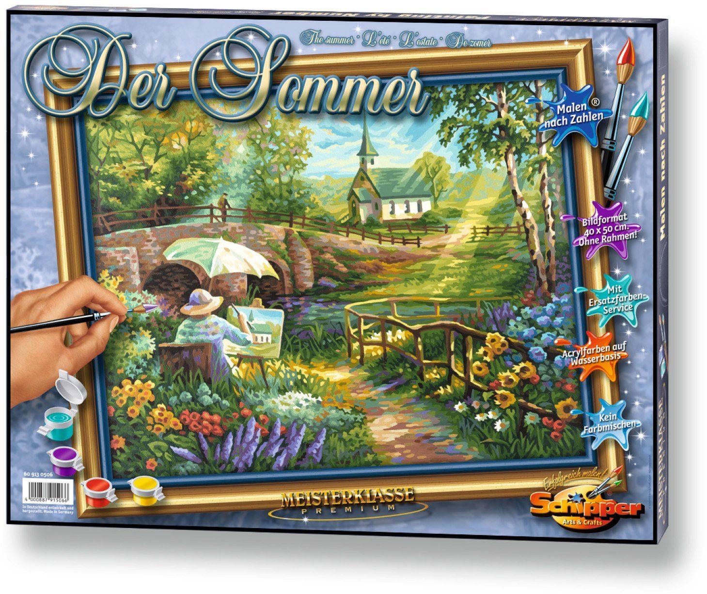 Schipper, Malen nach Zahlen, »Meisterklasse Premium Der Sommer«
