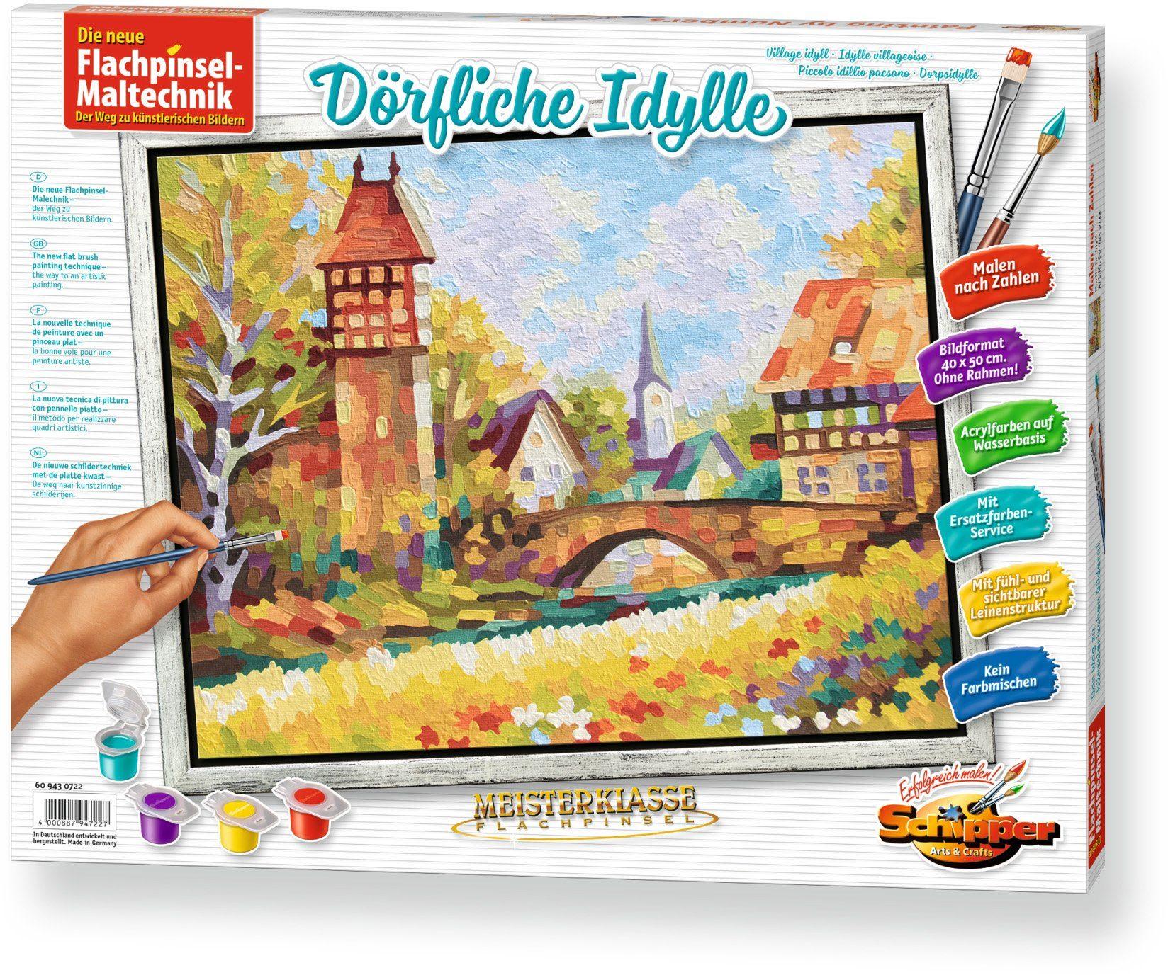 Schipper, Malen nach Zahlen, »Meisterklasse Premium Dörfliche Idylle«