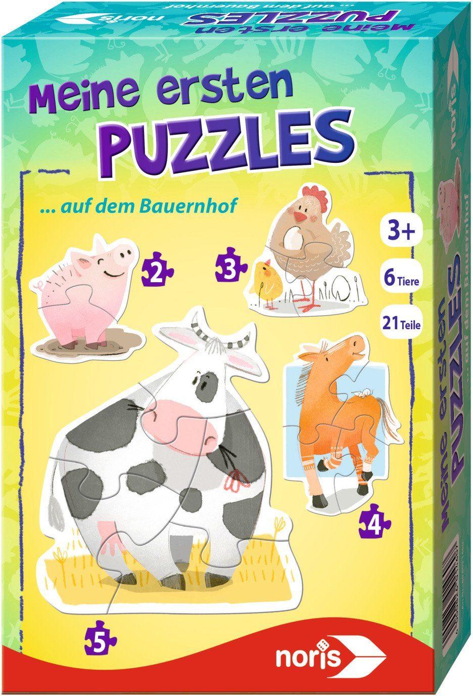 Noris Kinderpuzzle, »Meine ersten Puzzles Bauernhof«