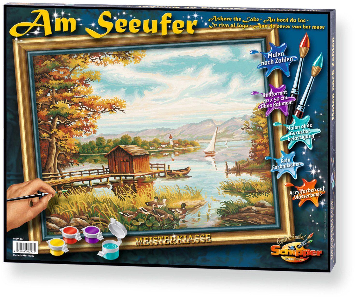 Schipper, Malen nach Zahlen, »Meisterklasse Premium Am Seeufer«