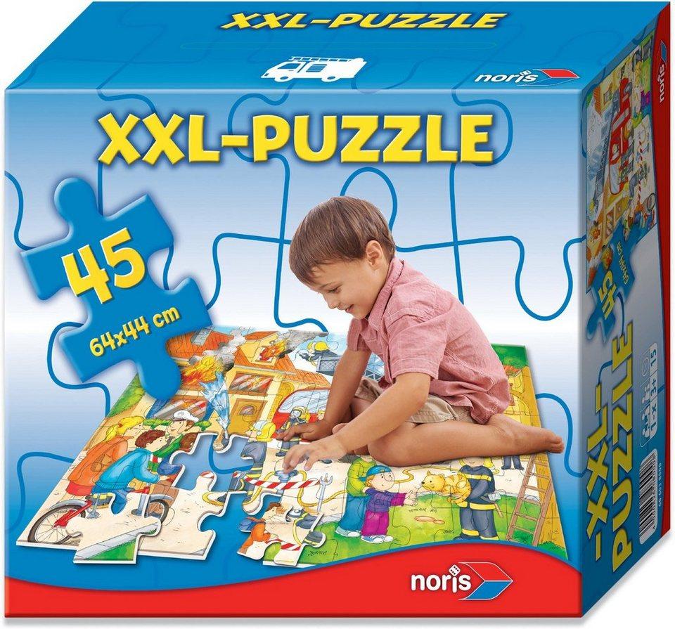 Noris Kinderpuzzle, »Riesenpuzzle 45 tlg. Feuerwehr«