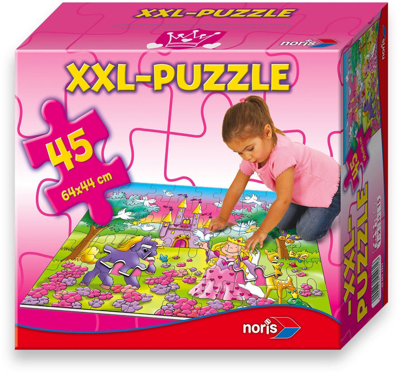 Noris Kinderpuzzle, »Riesenpuzzle 45 tlg. Prinzessin«