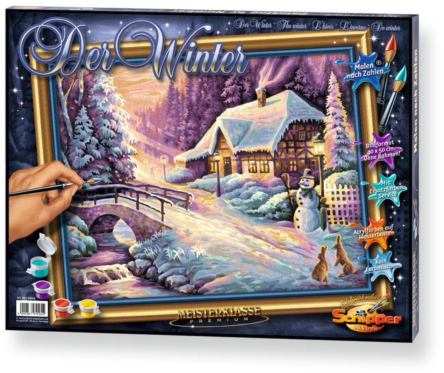 Schipper, Malen nach Zahlen, »Meisterklasse Premium Der Winter«