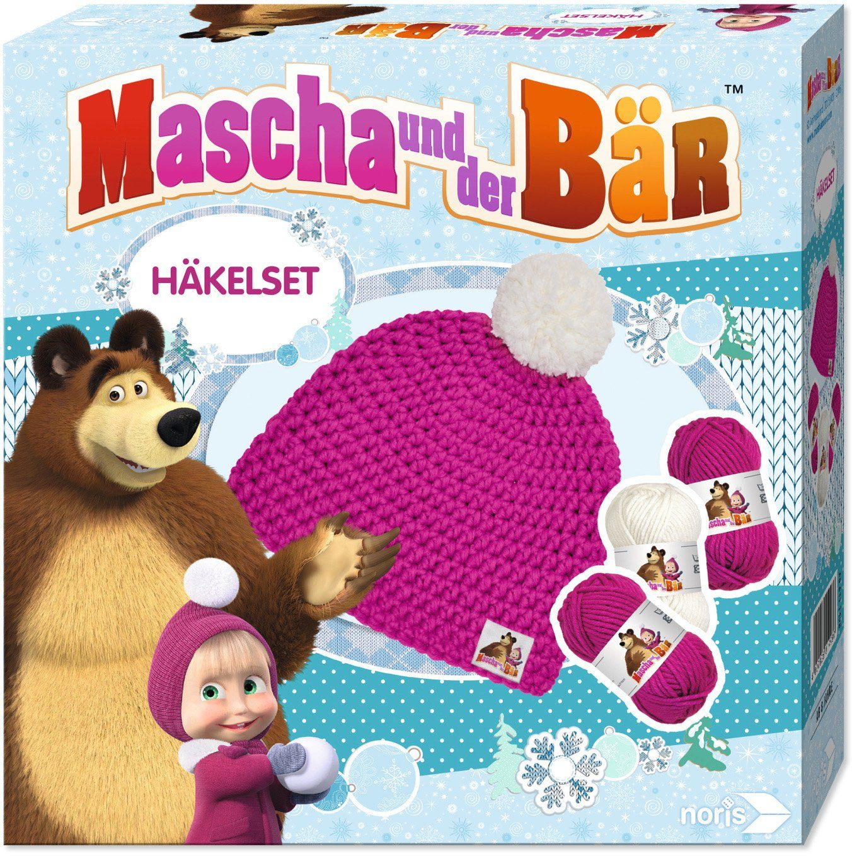 Noris, Häkelmütze zum Selberhäkeln, »Mascha und der Bär, Mascha«
