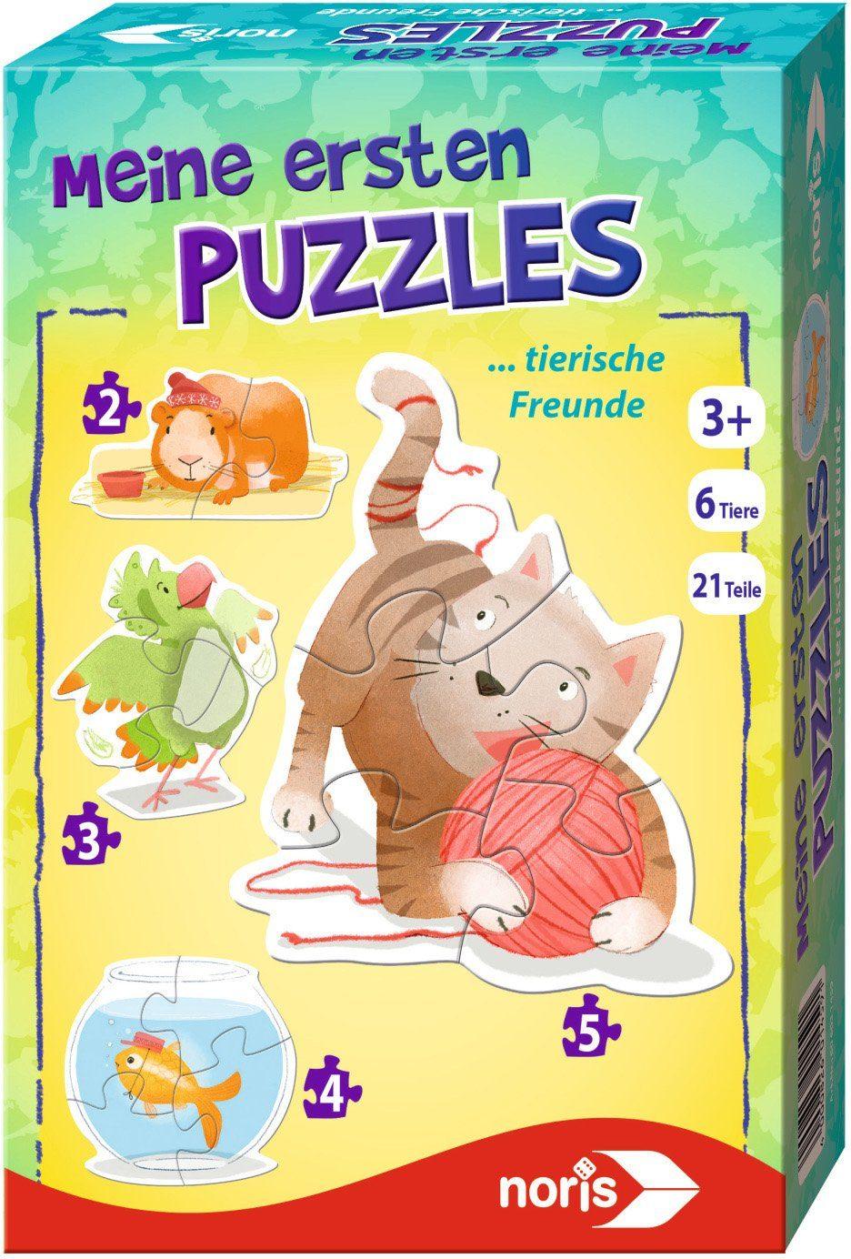 Noris Kinderpuzzle, »Meine ersten Puzzles Tierfreunde«