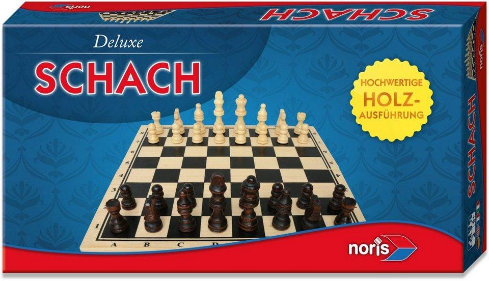 Noris, Logikspiel, »Deluxe Holz Schach«