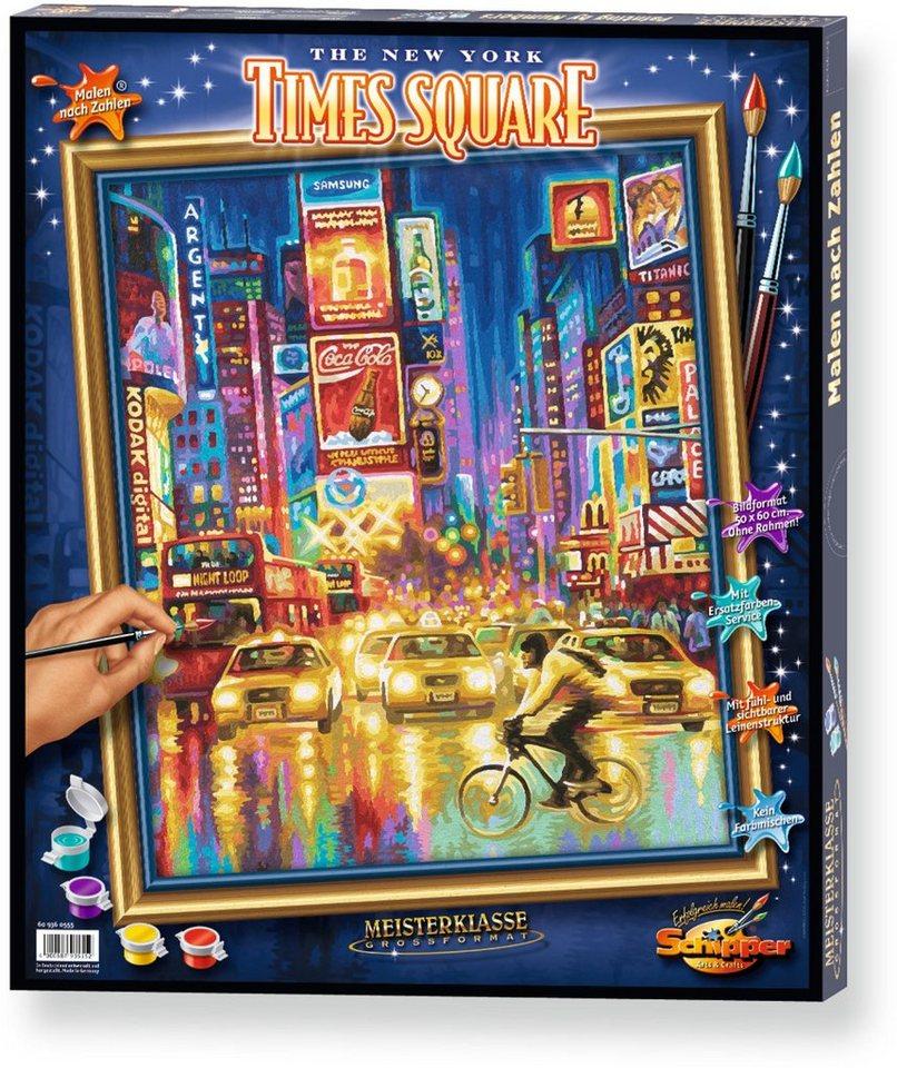 Schipper Malen nach Zahlen, »Meisterklasse Großformat The New York Times Square«