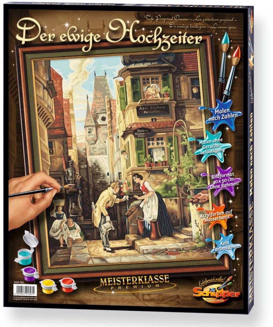 Schipper, Malen nach Zahlen, »Meisterklasse Premium Der ewige Hochzeiter«