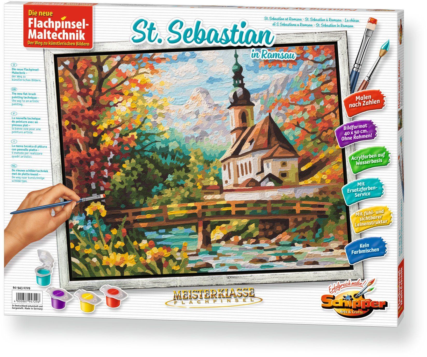 Schipper, Malen nach Zahlen, »Meisterklasse Premium St.Sebastian in der Ramsau«