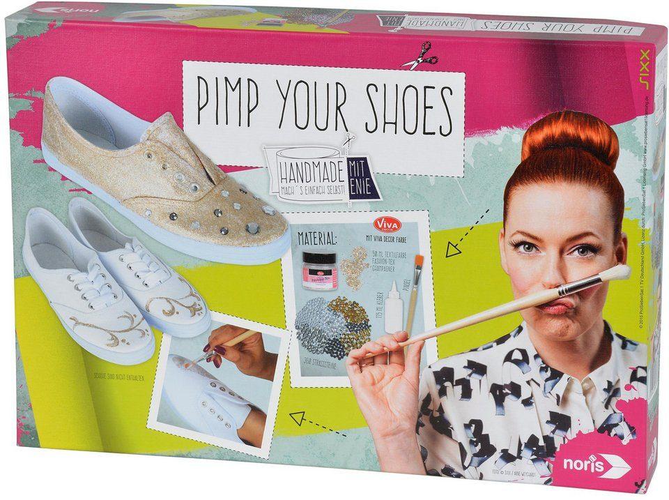 Noris Kreativset, »Enie Pimp your shoes«