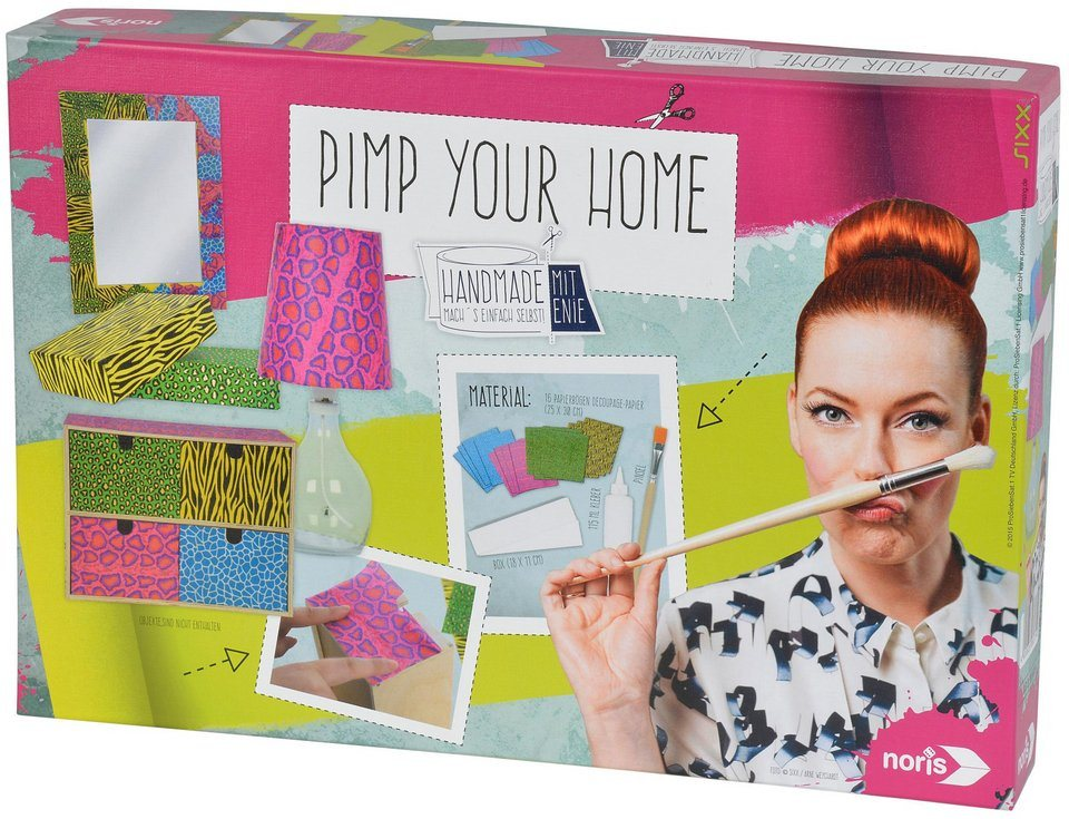 Noris Kreativset, »Enie Pimp your home«
