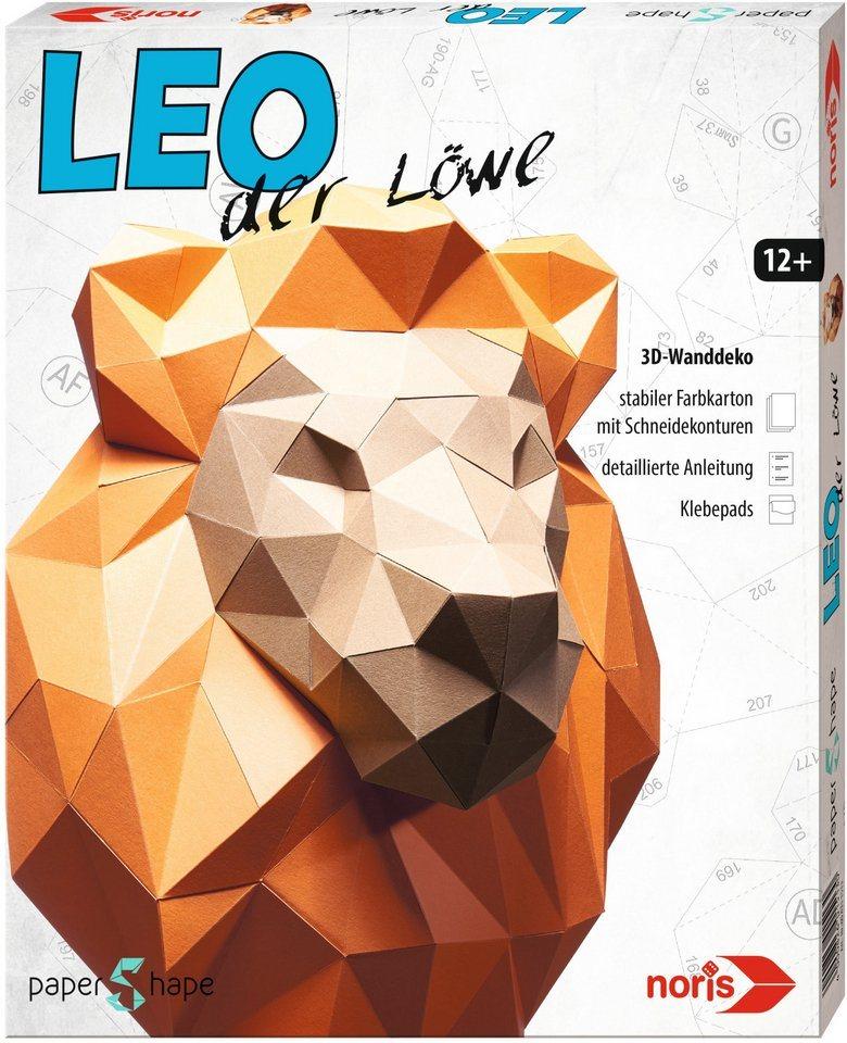 Noris, Bastelset, »Papershape Löwe Leo«