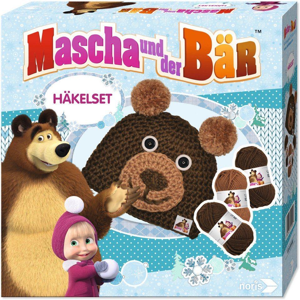 Noris Häkelmütze zum Selberhäkeln, »Mascha und der Bär, Bär«