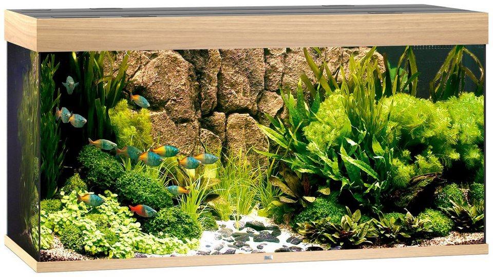 Aquarium »Rio 300«, Maße (B/T/H): 121/51/66 cm in helles Holz