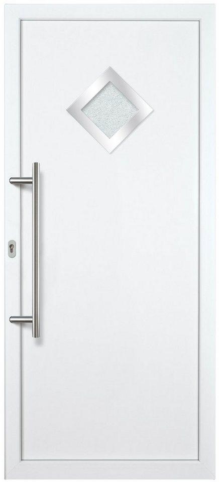 Kunststoff-Haustür »KA632 P« nach Wunschmaß, Türanschlag rechts in weiß