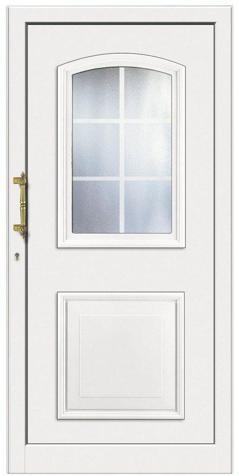 Kunststoff-Haustür »KT258«, Türanschlag rechts (BxH: 108 x 208 cm) in weiß