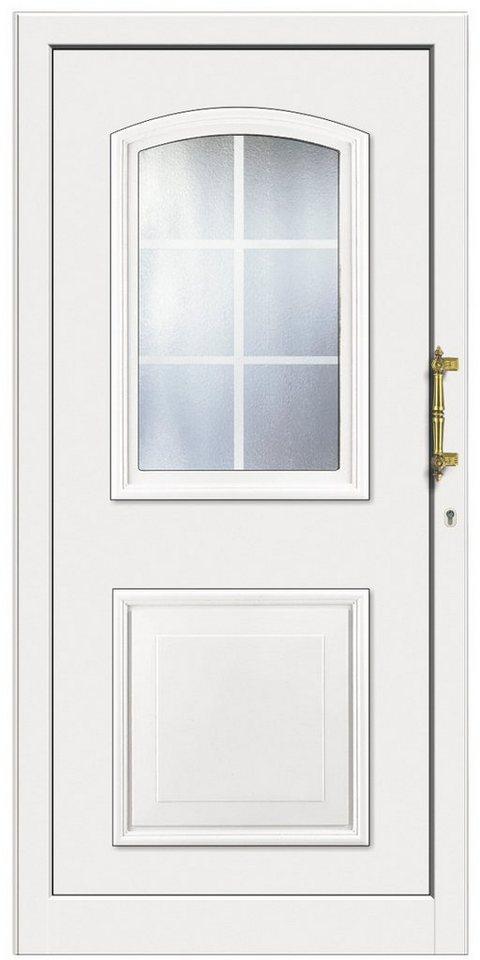 Kunststoff-Haustür »KT258«, Türanschlag links (BxH: 108 x 208 cm) in weiß