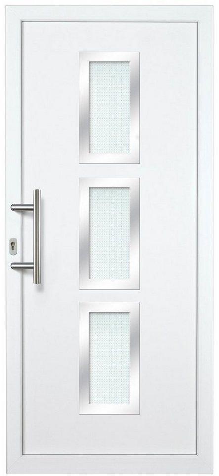 Kunststoff-Haustür »KA731 AS2-V2« nach Wunschmaß, Türanschlag rechts in weiß
