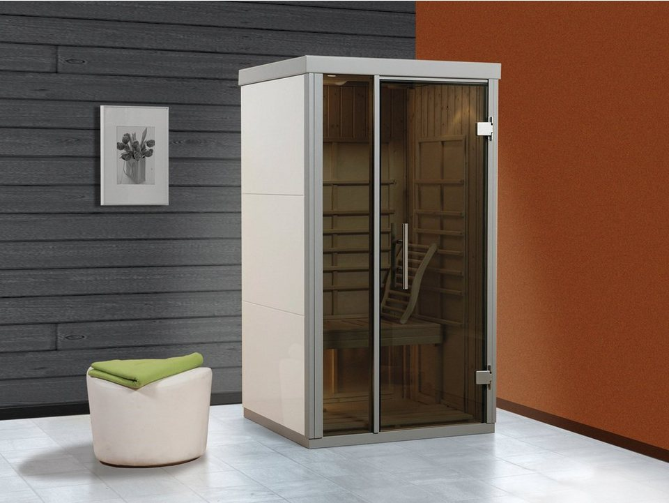 weka infrarotkabine bianco 113 101 206 cm 50 mm wei. Black Bedroom Furniture Sets. Home Design Ideas