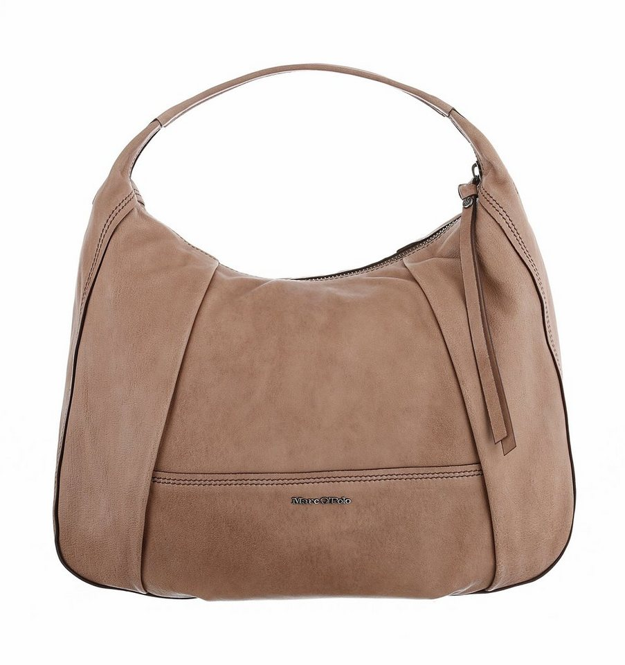 Marc O'Polo Hobo in taupe