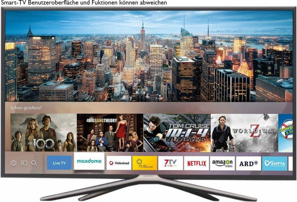 samsung ue32k5579suxzg led fernseher 80 cm 32 zoll 1080p full hd smart tv online kaufen. Black Bedroom Furniture Sets. Home Design Ideas