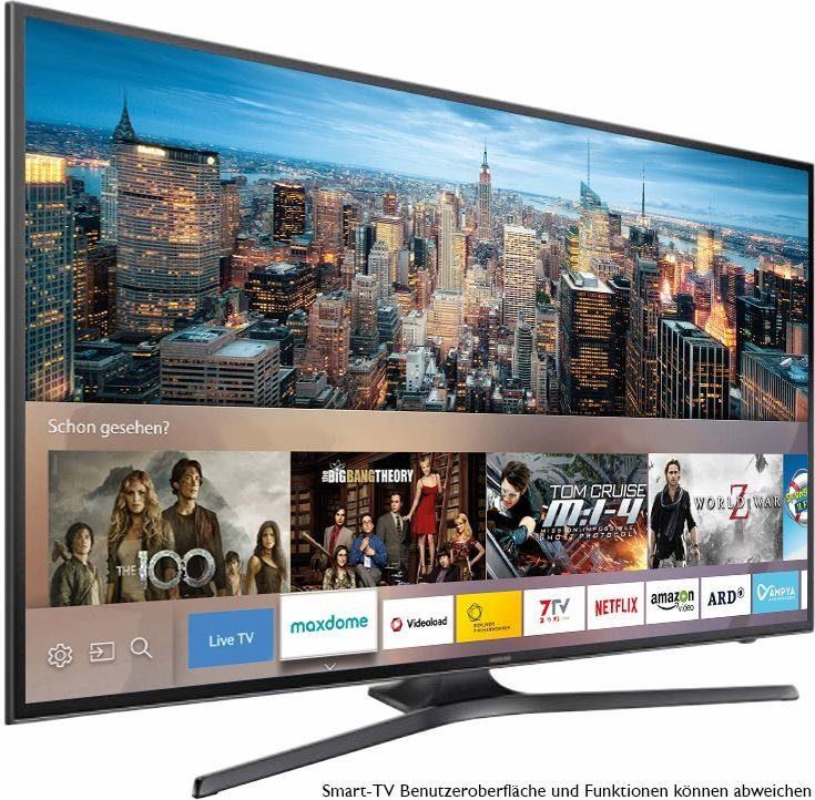 Samsung UE65KU6079UXZG, LED Fernseher, 163 cm (65 Zoll), 2160p (4K Ultra HD), Smart-TV