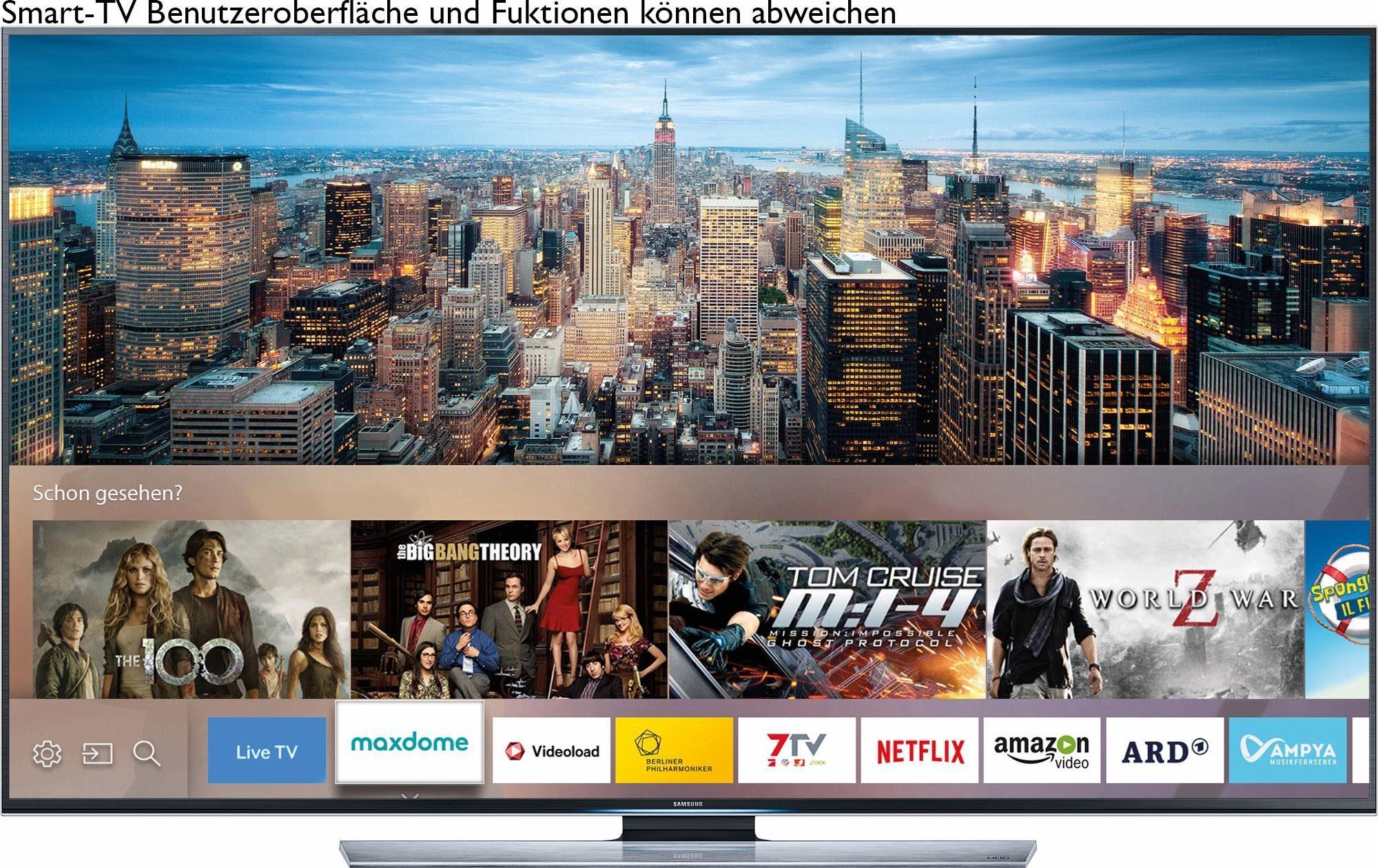 Samsung UE85JU7090, LED Fernseher, 214 cm (85 Zoll), 2160p (4K Ultra HD), Smart-TV