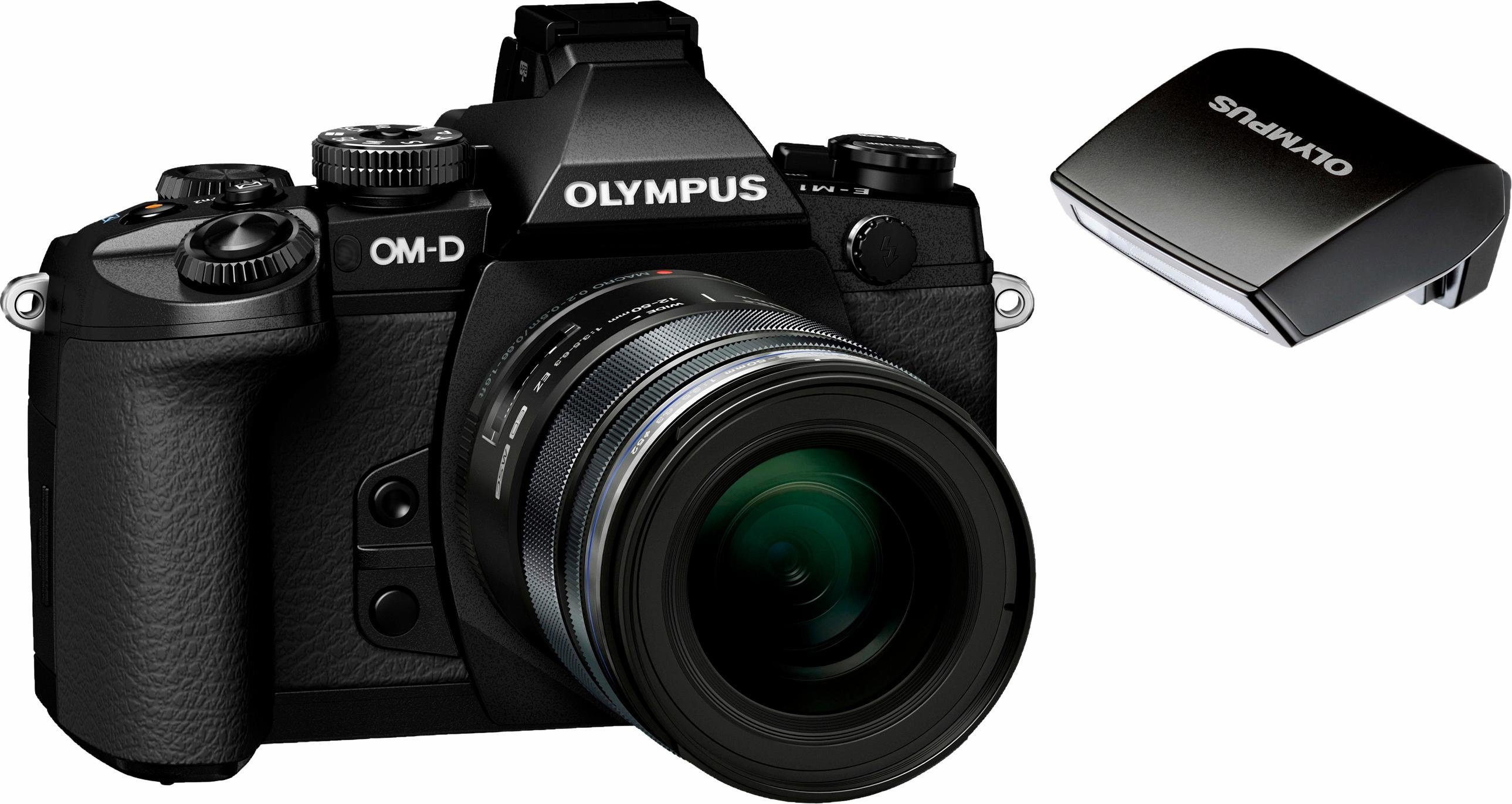 Olympus OM-D E-M1 System Kamera, M.ZUIKO DIGITAL ED 12-50 1:3.5-6.3 EZ Telezoom, 16,3 Megapixel