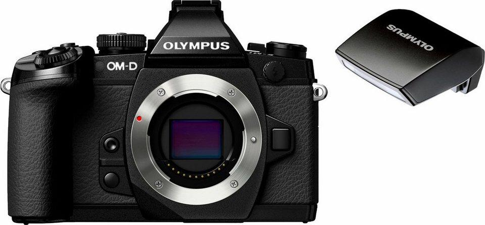 Olympus OM-D E-M1 Body System Kamera, 16,3 Megapixel, 7,6 cm (3 Zoll) Display in schwarz