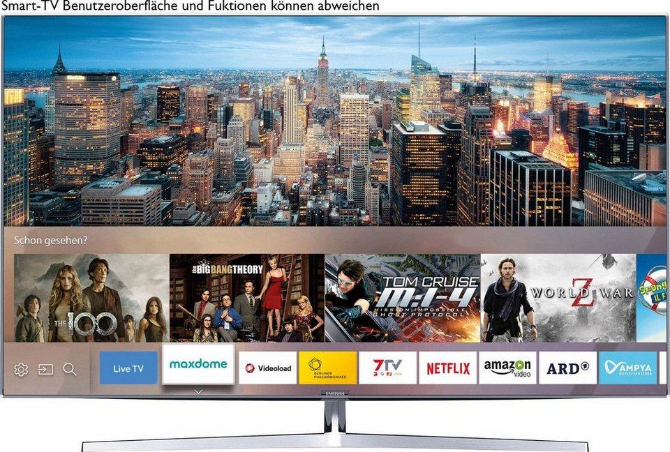 Samsung UE49KS8090TXZG, LED Fernseher, 123 cm (49 Zoll), 2160p (SUHD), Smart-TV in silberfarben