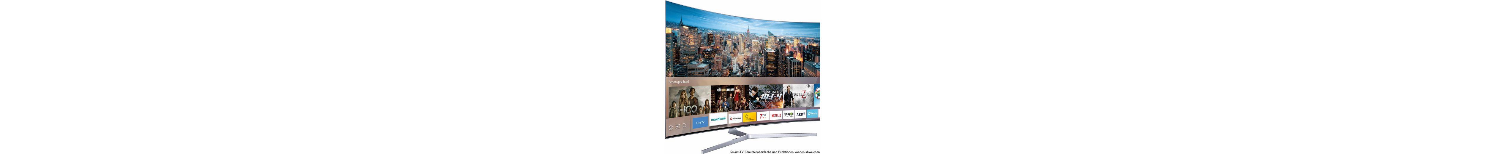Samsung UE65KS9590UXZG, Curved-LED-Fernseher, 163 cm (65 Zoll), 2160p (SUHD), Smart-TV