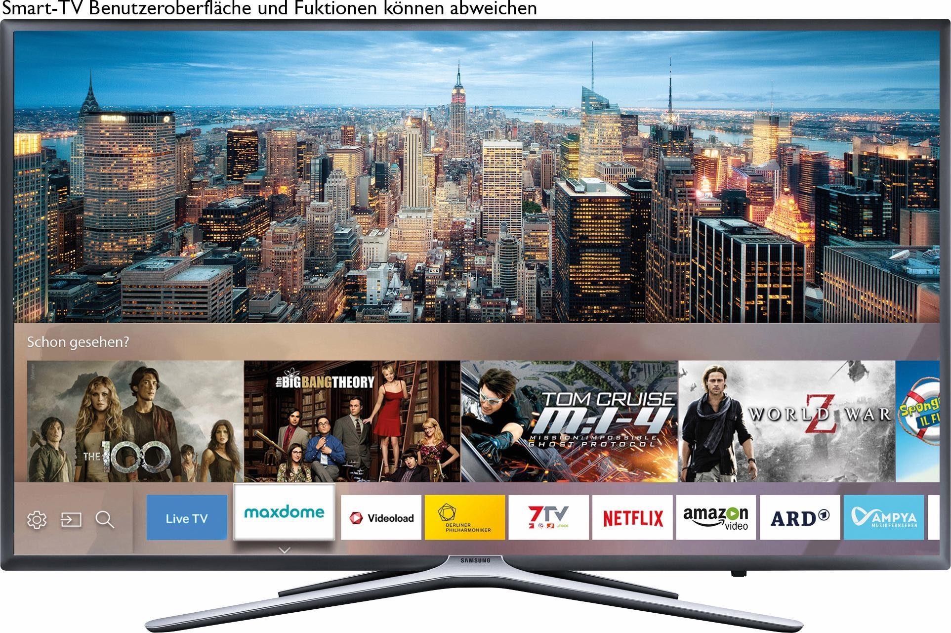 Samsung UE55K5579SUXZG LED Fernseher inkl. 36 Monate Garantie (138 cm (55 Zoll), 1080p (Full HD), Smart-TV)