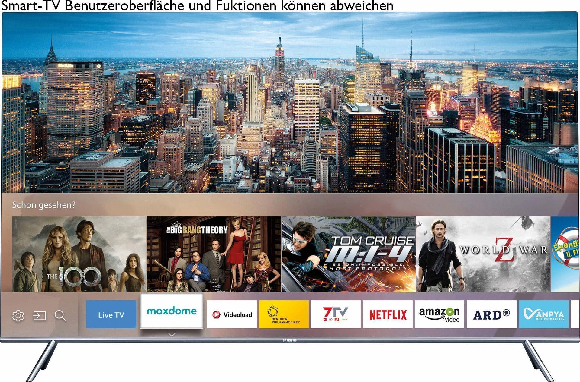 Samsung UE43KS7590UXZG, Curved-LED-Fernseher, 108 cm (43 Zoll), 2160p (SUHD), Smart-TV