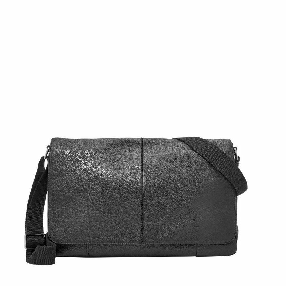 Fossil Messenger Bag »MAYFAIR« in schwarz