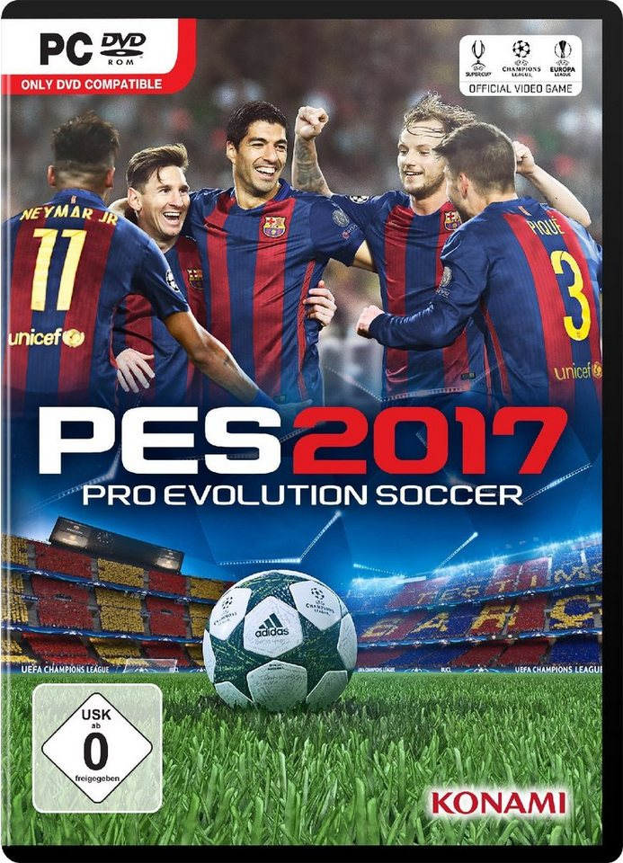 Konami Pro Evolution Soccer 2017 (PES 2017) »(PC)«