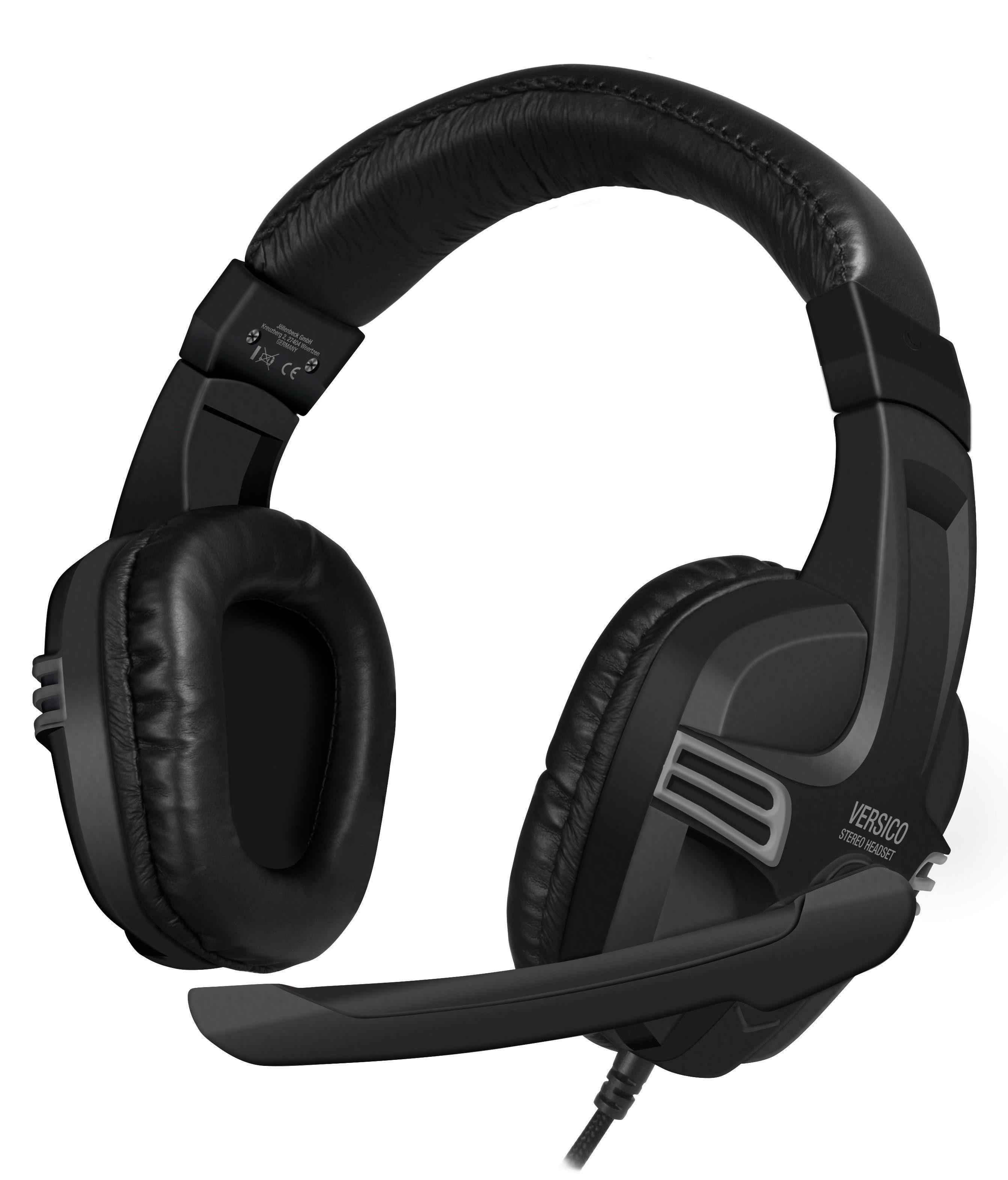 SPEEDLINK Stereo Headset »VERSICO Stereo Headset schwarz-grau«
