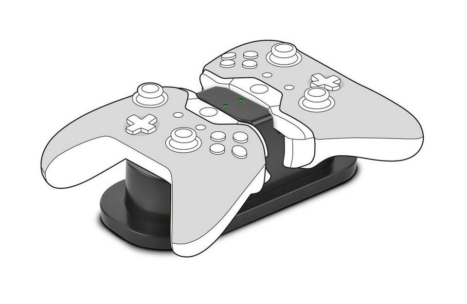 SPEEDLINK Ladestation »TWINDOCK USB Ladestation + 2 Akkus für Xbox One«