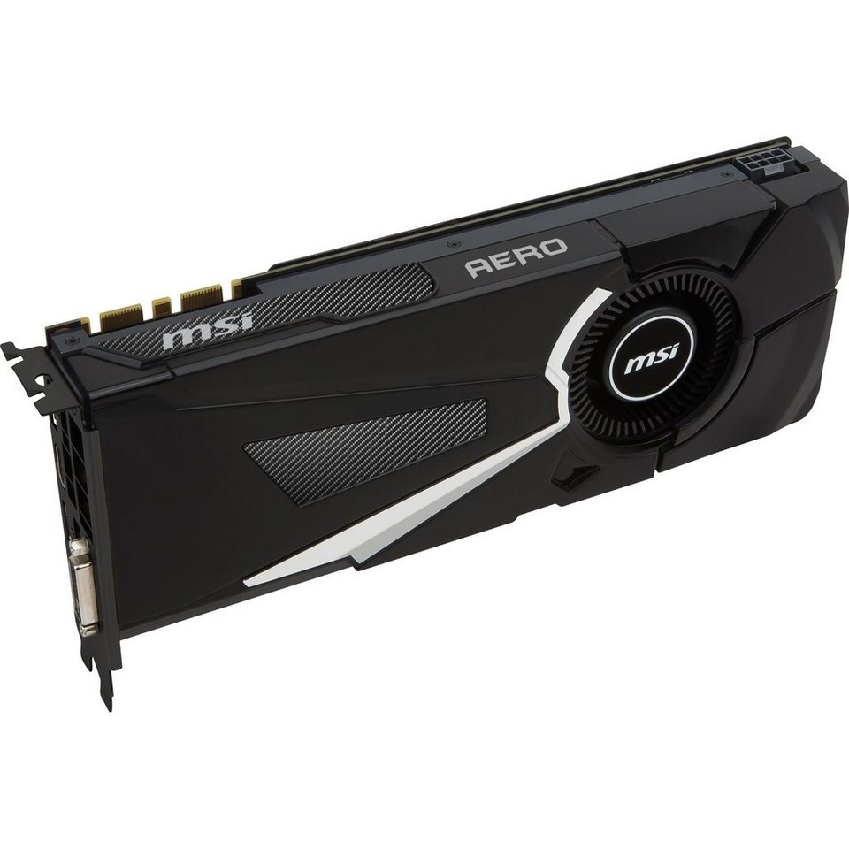 MSI Grafikkarte »GeForce GTX 1070 AERO 8G OC«