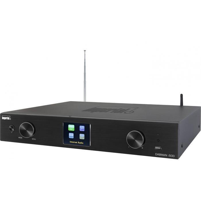 IMPERIAL DAB+, UKW und Internetradio »DABMAN i500« in schwarz