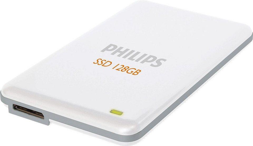 Philips SSD 128GB, USB 3.0, 4.57cm (1.8''), White in white