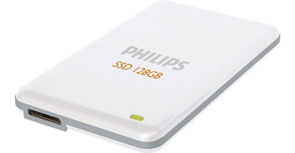 Philips SSD 128GB, USB 3.0, 4.57cm (1.8''), White