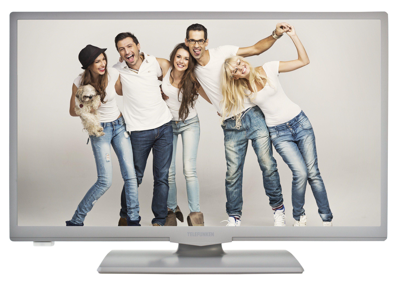 Telefunken LED-Fernseher (24 Zoll, HD-Ready, Triple-Tuner) »XH24A100 grau«