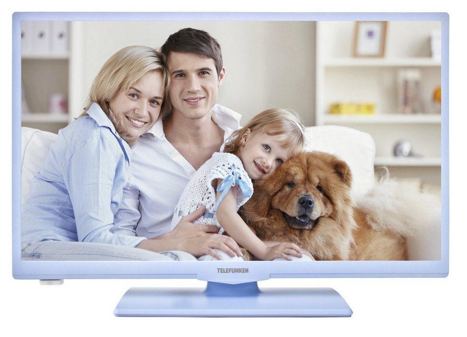 Telefunken LED-Fernseher (24 Zoll, HD-Ready, Triple-Tuner) »XH24A100 blau« in Blau